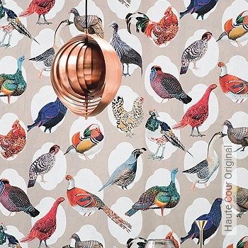 Preis:163,00 EUR - Kollektion(en): - Braun - EN15102/EN13501.B-s1 d0 - Tapeten mit Vogelmotiven