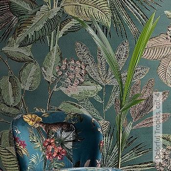Preis:175,00 EUR - Kollektion(en): - Braun - FotoTapete - Creme - Blumen - Florale Muster