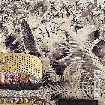 Preis:94,95 EUR - Kollektion(en): - Braun - FotoTapete - Creme - Blumen