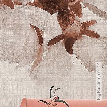 Preis:56,00 EUR - Kollektion(en): - Braun - FotoTapete - Creme - Blumen - Schwer entflammbar