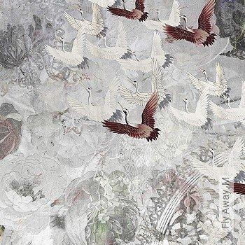 Preis:590,00 EUR - Kollektion(en): - Braun - FotoTapete - EN15102/EN13501.B-s1 d0 - Vögel