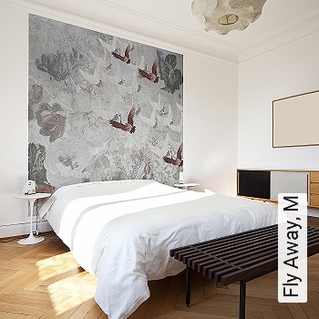 Preis:590,00 EUR - Kollektion(en): - Braun - NEUE Tapeten - Tapeten in Grau - FotoTapete - EN15102/EN13501.B-s1 d0 - Tapeten mit Vogelmotiven