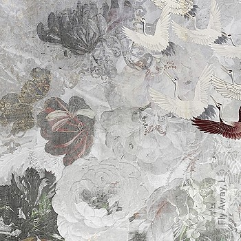 Preis:870,00 EUR - Kollektion(en): - Braun - Tapeten in Grau - FotoTapete - EN15102/EN13501.B-s1 d0 - Tapeten mit Vogelmotiven - Moderne Tapeten