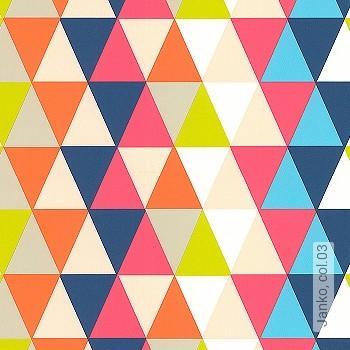 Preis:48,00 EUR - Kollektion(en): - Dreiecke - KinderTapeten