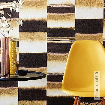 Preis:78,00 EUR - Kollektion(en): - EN15102/EN13501.B-s1 d0 - Farbverlauf - Creme - Abwaschbare Tapeten