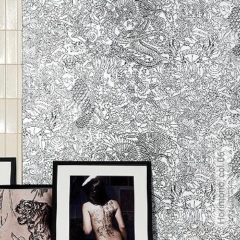 Price:109,40 EUR - Kollektion(en): - EN15102 / EN13501.B-s1 d0 - Good light fastness - Black - Paste-the-wall