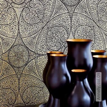 Price:71,95 EUR - Kollektion(en): - EN15102 / EN13501.B-s1 d0 - Good light fastness - Black - Paste-the-wall