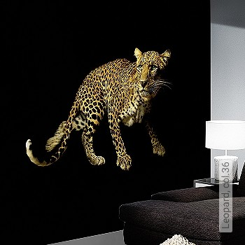 Preis:409,30 EUR - Kollektion(en): - EN15102/EN13501.B-s1 d0 - Gute Lichtbeständigkeit - Schwarz - Animal Print - Ocker