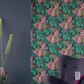 Preis:124,00 EUR - Kollektion(en): - EN15102/EN13501.B-s1 d0 - Gute Lichtbeständigkeit - Schwarz - Blumen
