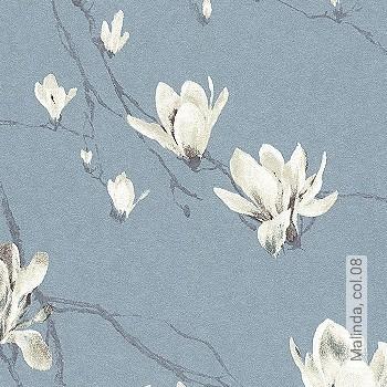 Preis:49,95 EUR - Kollektion(en): - EN15102/EN13501.B-s1 d0 - Gute Lichtbeständigkeit - Schwarz - Blumen
