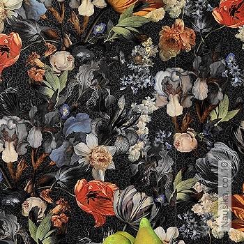 Preis:56,95 EUR - Kollektion(en): - EN15102/EN13501.B-s1 d0 - Gute Lichtbeständigkeit - Schwarz - Florale Muster