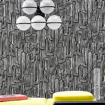 Preis:163,00 EUR - Kollektion(en): - EN15102/EN13501.B-s1 d0 - Gute Lichtbeständigkeit - Schwarz - Florale Muster