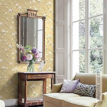 Preis:49,95 EUR - Kollektion(en): - EN15102/EN13501.B-s1 d0 - Gute Lichtbeständigkeit - Schwarz - Florale Muster