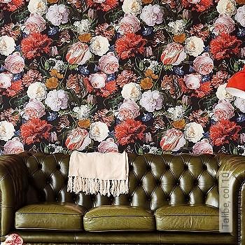 Preis:69,95 EUR - Kollektion(en): - EN15102/EN13501.B-s1 d0 - Gute Lichtbeständigkeit - Schwarz - Florale Muster
