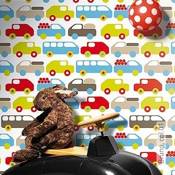 Preis:54,00 EUR - Kollektion(en): - Fahrzeuge - KinderTapeten