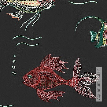 Preis:114,50 EUR - Kollektion(en): - Fische - NEUE Tapeten