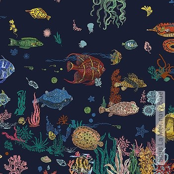 Preis:480,00 EUR - Kollektion(en): - Fische - NEUE Tapeten
