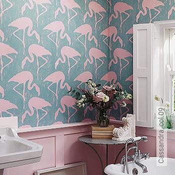 Preis:108,00 EUR - Kollektion(en): - Flamingos - NEUE Tapeten