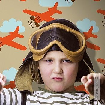 Preis:54,00 EUR - Kollektion(en): - Flugzeuge - KinderTapeten