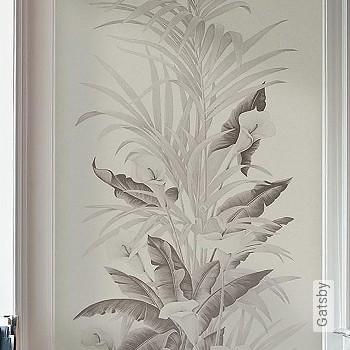 Preis:219,65 EUR - Kollektion(en): - FotoTapete - Changierend - Zeichnungen - Tapeten in Grau - Blumen