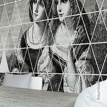 Preis:461,00 EUR - Kollektion(en): - FotoTapete - Changierend - Zeichnungen - Tapeten in Grau - Wandklebetechnik