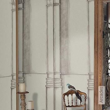 Preis:296,25 EUR - Kollektion(en): - FotoTapete - Changierend - Zeichnungen - Tapeten in Grau - Wandklebetechnik