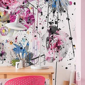 Preis:94,95 EUR - Kollektion(en): - FotoTapete - Farbverlauf - Florale Muster