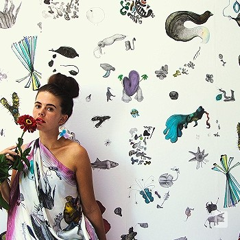 Preis:198,40 EUR - Kollektion(en): - FotoTapete - Florale Muster - Abwaschbare Tapeten