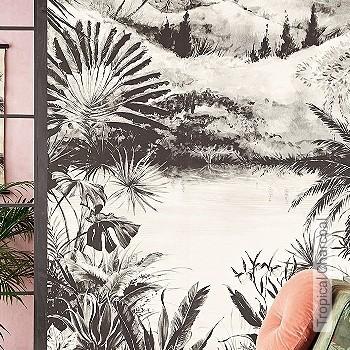Preis:230,00 EUR - Kollektion(en): - FotoTapete - Gute Lichtbeständigkeit - Schwarz - Florale Muster