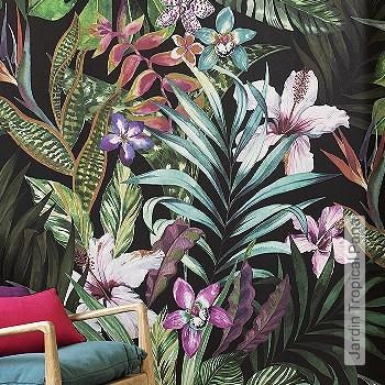 Preis:379,50 EUR - Kollektion(en): - FotoTapete - Gute Lichtbeständigkeit - Schwarz - Florale Muster