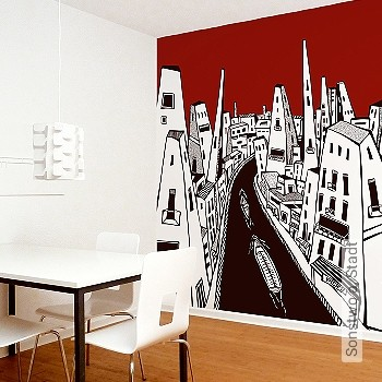 Preis:278,00 EUR - Kollektion(en): - FotoTapete - Gute Lichtbeständigkeit - Schwarz - Reißfest