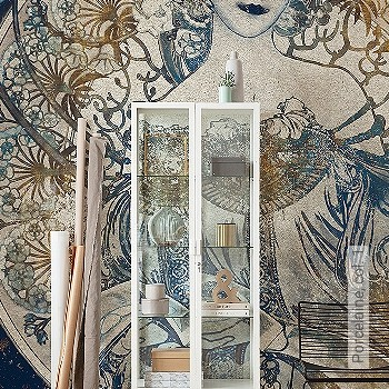 Preis:119,90 EUR - Kollektion(en): - FotoTapete - Jugendstil