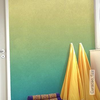 Preis:149,00 EUR - Kollektion(en): - FotoTapete - Türkis - Farbverlauf - Abwaschbare Tapeten