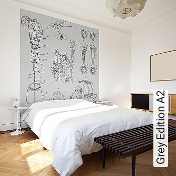Preis:257,25 EUR - Kollektion(en): - FotoTapete - Trocken restlos abziehbar - Gute Lichtbeständigkeit - Schwarz