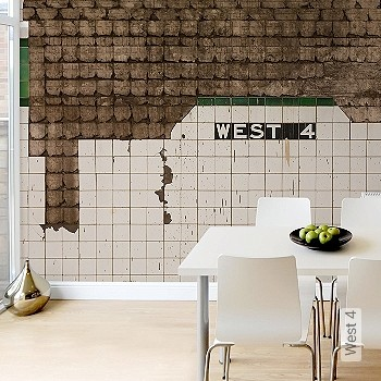 Preis:319,00 EUR - Kollektion(en): - FotoTapete - Wasserbeständig - Gute Lichtbeständigkeit - Kachel & Fliesen - Creme