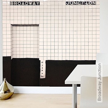 Preis:169,00 EUR - Kollektion(en): - FotoTapete - Wasserbeständig - Gute Lichtbeständigkeit - Kachel & Fliesen - Schwarz