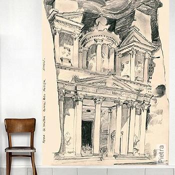 Preis:343,00 EUR - Kollektion(en): - FotoTapete - Zeichnungen - Anthrazit