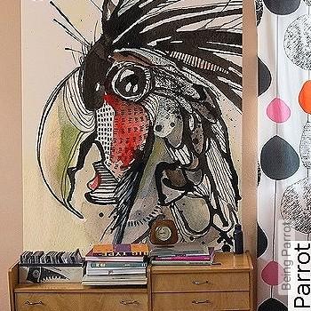 Preis:129,00 EUR - Kollektion(en): - FotoTapete - Zeichnungen - Tapeten mit Vogelmotiven - Exotische Tapeten