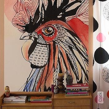 Preis:129,00 EUR - Kollektion(en): - FotoTapete - Zeichnungen - Tapeten mit Vogelmotiven - Wasserdampfdurchlässig