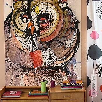 Preis:129,00 EUR - Kollektion(en): - FotoTapete - Zeichnungen - Vögel
