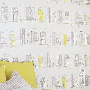 Preis:29,75 EUR - Kollektion(en): - Gelb - KinderTapeten