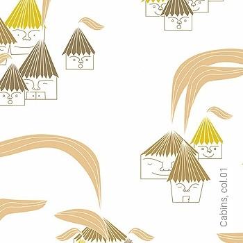 Preis:53,54 EUR - Kollektion(en): - Gelb - KinderTapeten