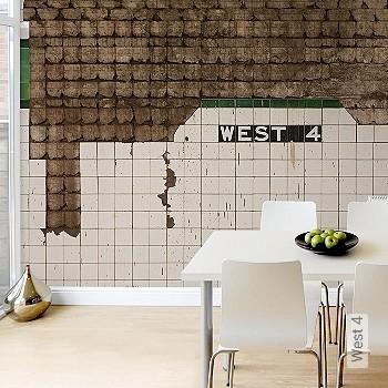 Preis:319,00 EUR - Kollektion(en): - Grüne Tapeten - FotoTapete - Wasserbeständig - Gute Lichtbeständigkeit - Kachel & Fliesen