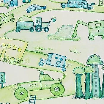 Preis:198,42 EUR - Kollektion(en): - Grüne Tapeten - KinderTapeten