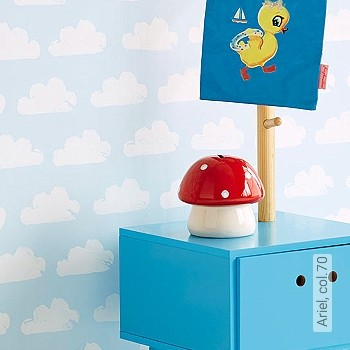 Preis:39,95 EUR - Kollektion(en): - Hellblau - KinderTapeten