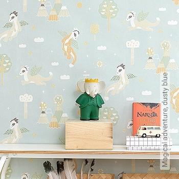 Preis:83,00 EUR - Kollektion(en): - Hellgrün - KinderTapeten