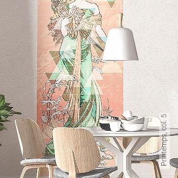 Preis:59,90 EUR - Kollektion(en): - Jugendstil - FotoTapete