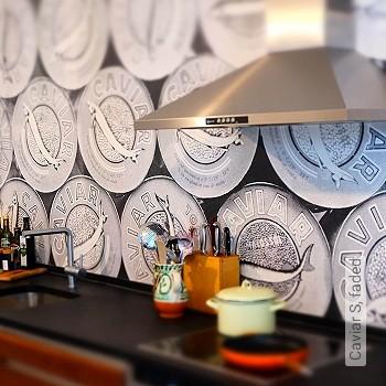 Preis:49,00 EUR - Kollektion(en): - Küche - NEUE Tapeten