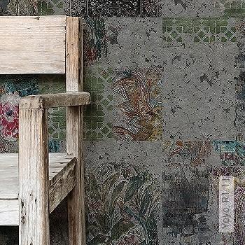 Preis:223,00 EUR - Kollektion(en): - Kachel & Fliesen - Tapeten in Grau - FotoTapete