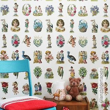 Preis:135,00 EUR - Kollektion(en): - KinderTapeten - Abwaschbare Tapeten